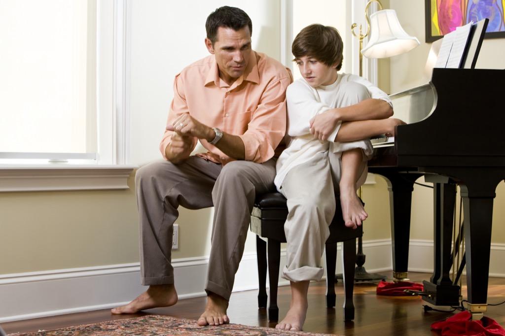 sois un meilleur père